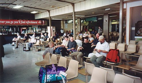 a-harare airport -jan 2000