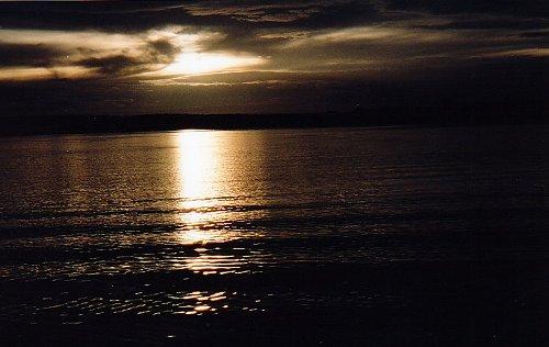 d-sunset on the zambesi