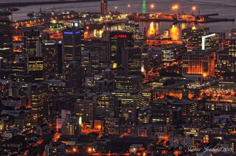 City Centre at night