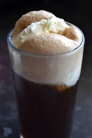 Coke Float or Ginger Beer +