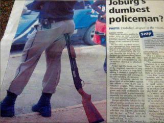 Dumb cop