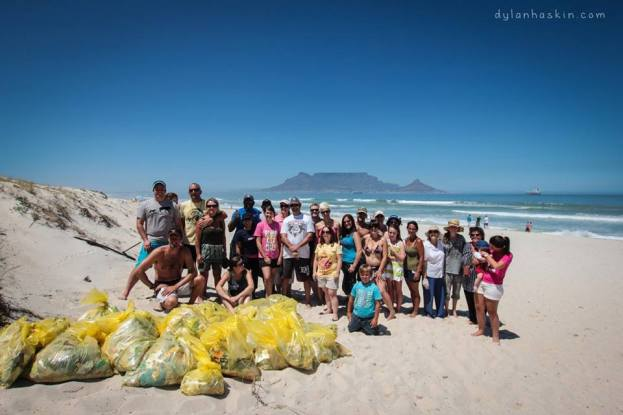 January 2013 Beach Clean Up - 1 hour a month.