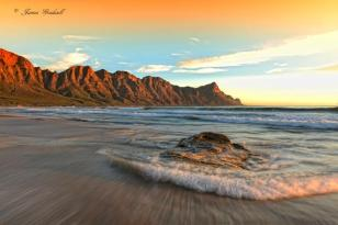 Kogelbay at sunset - James Gradwell Photography & Photo Tours