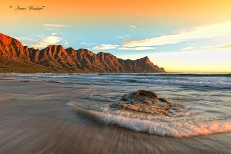 Kogelbay at sunset - James Gradwell Photography & Photo Tours