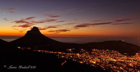 Lions Head sunset - James Gradwell Photography & Photo Tours