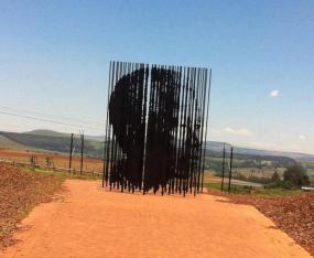 Mandela at Howick