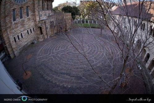 The Labyrinth at St George's Cathedral 22 June 2013