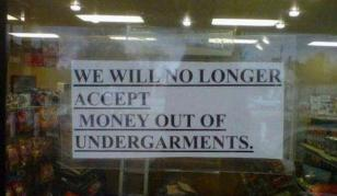 Underpant money