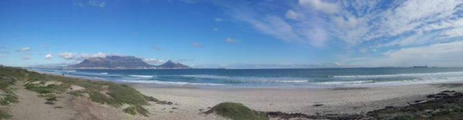 View from Sunset Beach 30 June 2013