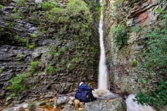 Waterfall on Table Mountain - James Gradwell Photography & Photo Tours