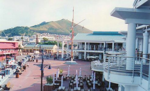 b1 Forecourt with Signal Hill