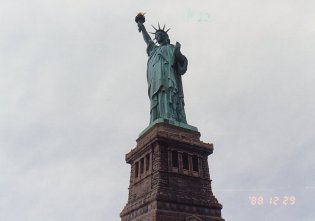 c7-Statue of Liberty-dec 88