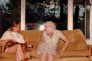 Image5b Karen, Grannie, Dogs