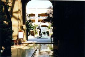 b1 Elephant statue in Courtyard