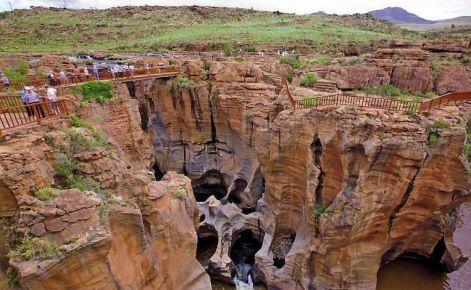 Bourke's Luck Potholes Blyde River