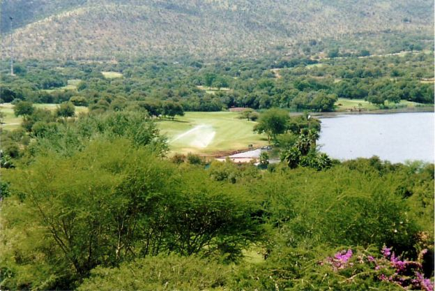 c9 Dam and part of Golf Course