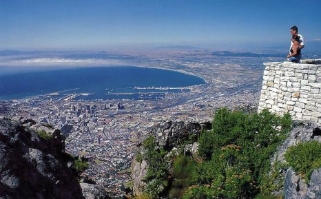 Cape Town from the mountain