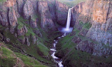 Drankensberg Waterfall
