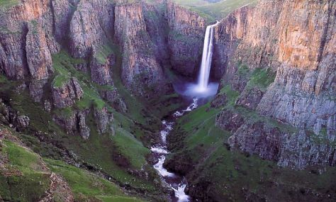 Drankensberg Waterfall