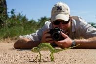 Lucien-and-chameleon