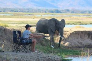 Adds a little excitement to your fishing - Mana Pools