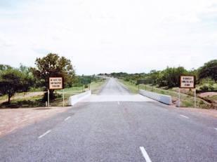 No Mans Land between Plumtree and Ramakwabane! (Rhodesia and Botswana)
