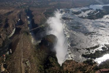 Victoria Falls - aerial