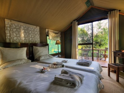 Little Vumbura Camp, Okavango Delta