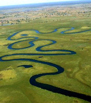 okvango river meander - robhig