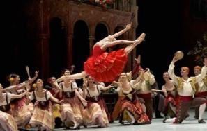Her stunning jump as Kitri!