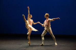 Natalia Osipova and David Hallberg in The Leaves are Fading - choreographed by Anthony Tudor