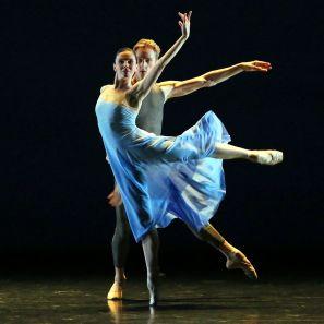 Natalia Osipova and David Hallberg in 'Valse Triste'