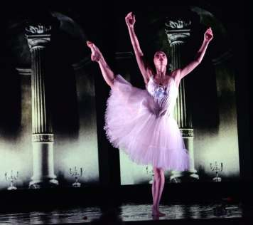 Natalia Osipova in her role as Russian Ballerina Olga Spessivtzeva - 'Two Feet' - premiered at Adelaide Festival 2019
