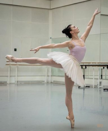 Natalia Osipova in rehearsal for Swan Lake Royal Ballet 2020