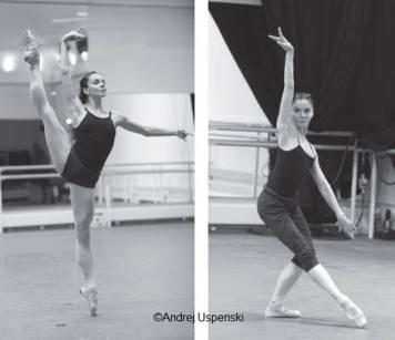 Natalia Osipova in rehearsals for Swan Lake
