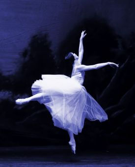 The Willis in Flight from Giselle
