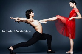 Throwback time. Natalia Osipova and Ivan Vasiliev