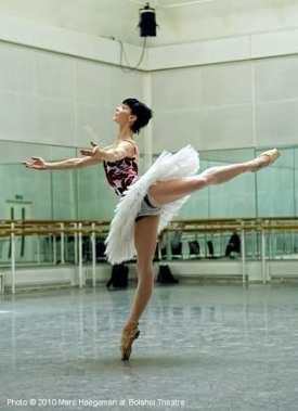 Throwback to Natalia Osipova rehearsing Don Quixote - Bolshoi 2010